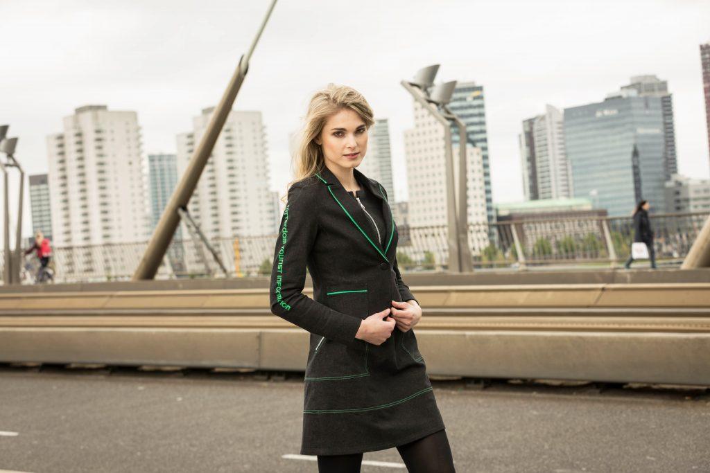 Bedrijfskleding dames jasje - Rotterdam Tourist Information