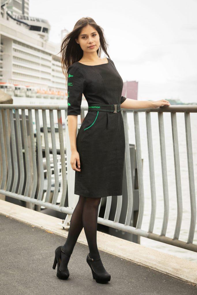 Bedrijfskleding dames jurk - Rotterdam Tourist Information